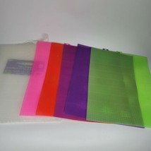 Darice Clear Needlework Craft Plastic Canvas 17 Sheet 7-Mesh/Count 10.5... - $24.99