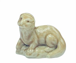 Wade Figurine whimsies whimsy England Red Rose tea miniature Weasel Badg... - $14.46