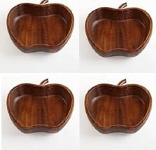 The Cellar Serveware, Acacia Wood Apple Bowl, Set of 4 - Open Stock - $704,56 MXN