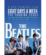 BEATLES ~ EIGHT DAYS A WEEK ~ 24x36 MOVIE POSTER John Paul George Ringo  - $19.00