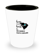 Mccormick County South Carolina Is Where My Heart Is Shot Glass Gift Bes... - $9.95