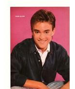 Chad Allen Corin Nemec teen magazine pinup clipping Teen Machine open shirt - $3.00