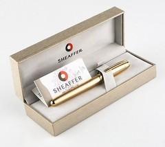 Sheaffer 22k Placcato Oro Prelude Marchio Stilo Penna W/Scatola Originale & - $222.74