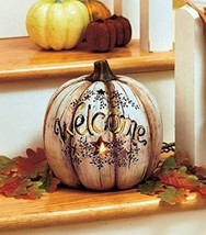 Lighted Country Welcome Pumpkin by GetSet2Save - $43.38