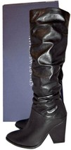 $775 Stuart Weitzman Boots Smashing Nappa Leather Tall Knee Boots Booties 6.5  - $289.00