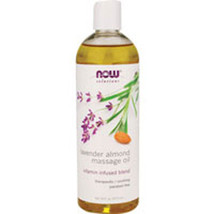 Lavender Almond Massage Oil, 16 FL OZ by Now Foods - $8.30