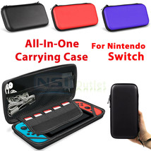 For Nintendo Switch Bag Travel Carrying Portable Storage Case Accessories Pocket - $24.60