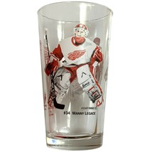 Detroit Red Wings Arby's Coke Glass 2002 Manny Legace Dominick Hasek Coc... - $19.99