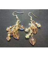 Pink Heart Dangle Earrings - $15.00