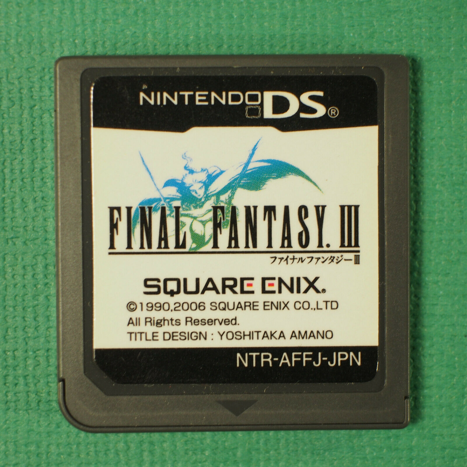Primary image for Final Fantasy III 3 (Nintendo DS, 2006) Japan Import ~ Japanese