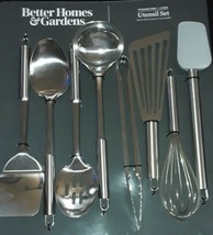 New.Kitchen.Cooking.Food. Better Homes & Gardens 8pc Stainless Steel Ute... - $19.99