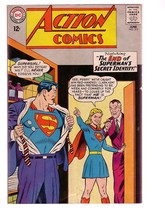 ACTION COMICS #313 1964-SUPERMAN-DC COMICS SUPERGIRL VG - $31.53