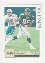1992 Upper Deck Rob Moore WR New York Jets  #139  192458 - $1.86