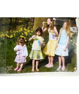 Favorite Things Pattern Circle, button & Pleat Skirts Girls Sizes 1-14 3... - $4.84