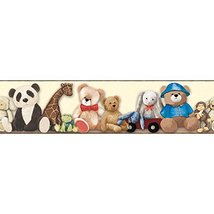 York Wallcoverings Brothers and Sisters V My Favorite Teddy Border, Crea... - $16.82