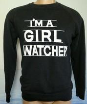 Levi's Vintage Clothing LVC Sweatshirt Mens S Raglan I'm a Girl Watcher ... - $74.25