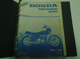 1976 1977 1978 HONDA CB750A CB 750 A Service Shop Repair Manual FACTORY - $43.55