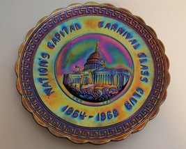 Imperial IG Amethyst Carnival 1969 NATION'S CAPITAL CARNIVAL GLASS CLUB ... - $19.95