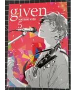 Given 5 ~ Natsuki Kizu (English manga) - $10.99