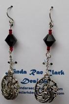 RD-ER-0229 - GOT Black Dragons Earrings - $12.00