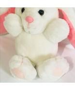 Rare Vintage Dakin 1985 Easter Bunny Rabbit Stuffed Plush Doll Toy Shake... - $37.18