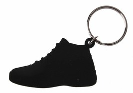 Good Wood NYC Concord 11 Black Sneaker Keychain Blk XI Shoe Key Ring key Fob image 2