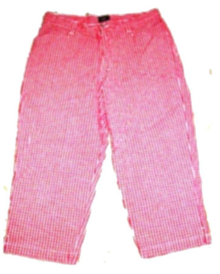 Lee Long Knicker Shorts & Capri Pants NWT$48-$50 Size Medium - 20W image 5