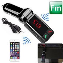 Car Kit Wireless Bluetooth MP3 Music Player FM Transmitter Radio With 2 ... - £9.19 GBP