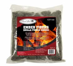 NEW GEF100 Glowing Ember Fiber 4 oz Kit Embers Gas Log Fireplace Set Woo... - $9.63