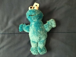 "Cookie Monster Fisher Price Plush 9 1/2"" Plush *NEW w Hanger Tag* v1 - $10.99"