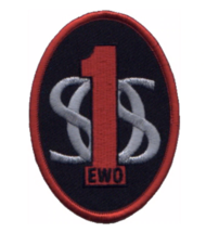 """3.75"""" AIR FORCE 1ST SOS EWO ELECTRONIC WEAPONS OFFICER EMBROIDERED PATCH - $23.74"""