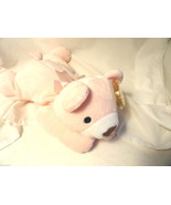 Ty Pillow Pal Snuggy Pink NOS Bear Plush Toy - $4.99