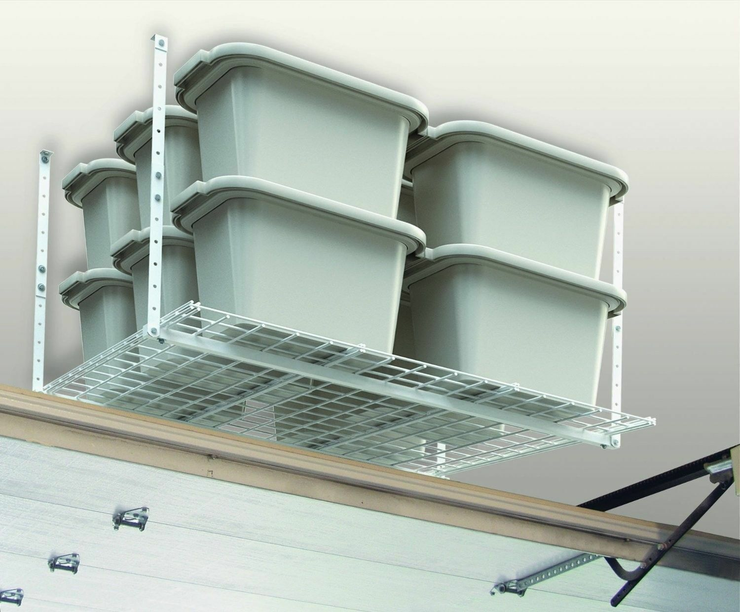 Ceiling Mounted 45 Inch Overhead Home Garage Storage Organization System NEW