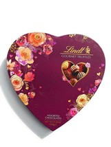 Lindt Valentine's Day Gourmet Chocolate Truffles Purple Heart Gift Box 1... - $24.70
