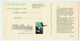 Stalheim Hotel Norway Napkin Envelope and Map Stalheim Norway - $27.72