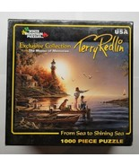 White Mountain Puzzles Terry Redlin 1000 Pieces From Sea to Shining Sea ... - $29.69