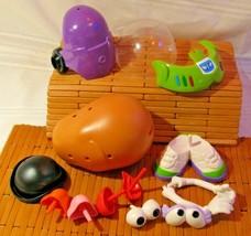 Disney Mr Potato Head  SPUD BUZZ LIGHT YEAR 13 Pieces Toy Story 4 Movie ... - $17.81