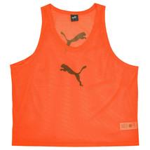 Puma Training BIB Team Pinnies Scrimmage Vest Soccer Football Orange 65398340 - $19.99