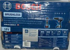 BOSCH GSB18V 490B12 18V Brushless Hammer Drill Driver Kit with Battery image 3