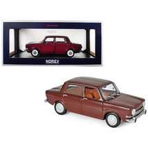 1974 Simca 1000 LS Amarante Red 1/18 Diecast Model Car by Norev 185713 - $93.33