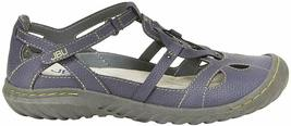 NEW JBU by Jambu Denim Blue Ladies' Sydney Flat Sandals for Women JB19SNY45 image 3