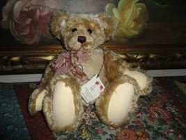 "OOAK Artist Susan McKay Bear "" Patches Corbett "" 1996 Bears of the Abbey... - $217.52"
