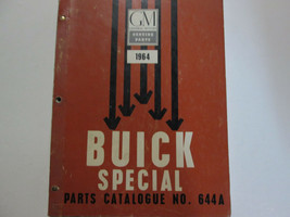 1964 BUICK SPECIAL Parts Catalog Catalogue Manual Factory OEM Book CDN RARE - $138.55