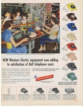 1954 Bell Telephone Western Electric Indianapolis Factory Test Station P... - $9.99