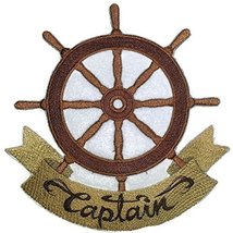 Ocean Calling Custom And Unique[ Captain ] Embroidered Iron On/Sew patch... - €10,22 EUR
