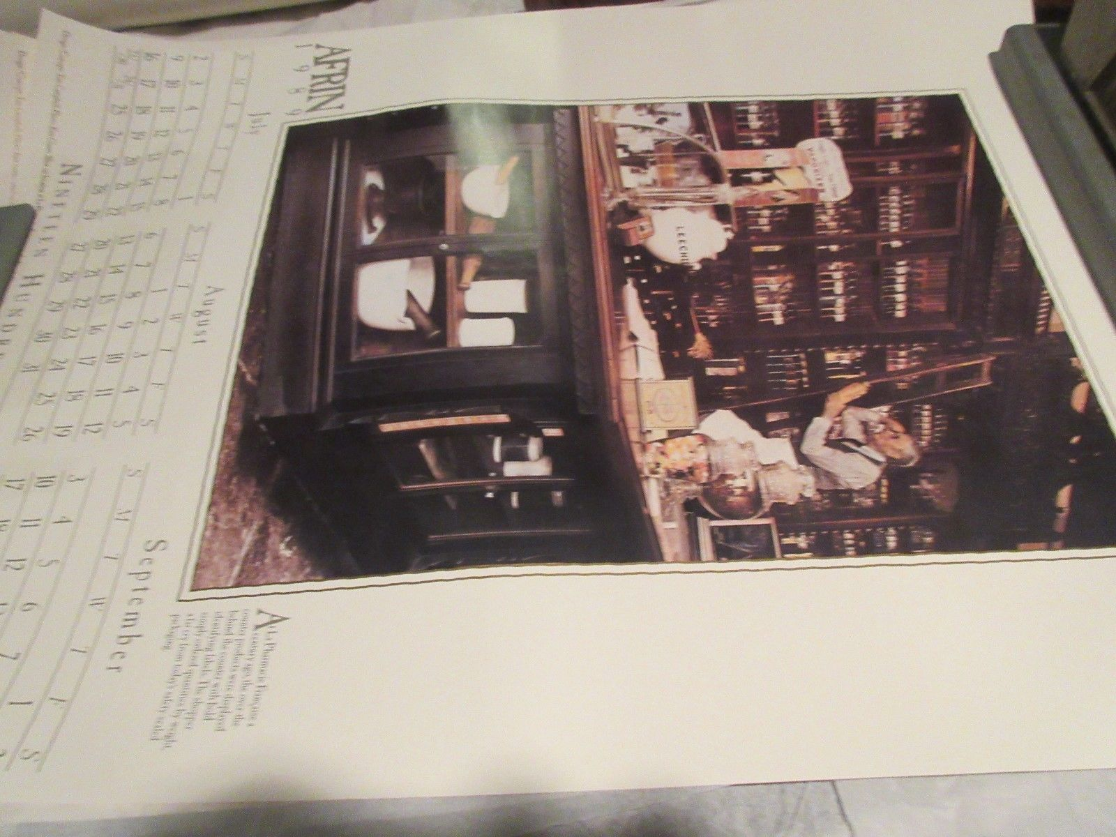 """Rx ,Pharmacy , POSTER ,18"""" X 24"""" ,Photographs Depicting History & Heritage ,1989 image 6"""