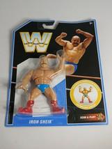 WWE Retro The Iron Shiek WWF Hasbro Mattel - $21.51