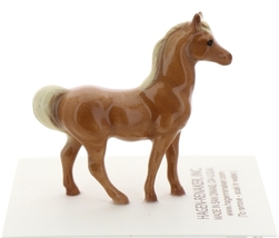 Hagen-Renaker Miniature Ceramic Horse Figurine Tiny Chestnut Stallion image 3