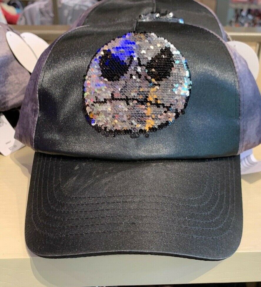 Primary image for Disney Parks Nightmare Before Christmas Jack Sequined Hat Cap New