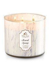 Bath & Body Works MINERAL SPRINGS 3-Wick Candle - $39.00